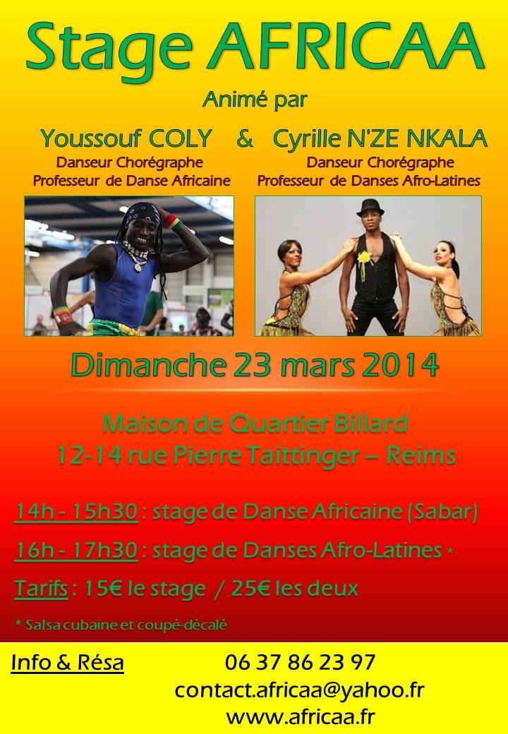 Flyer Stage 23 mars