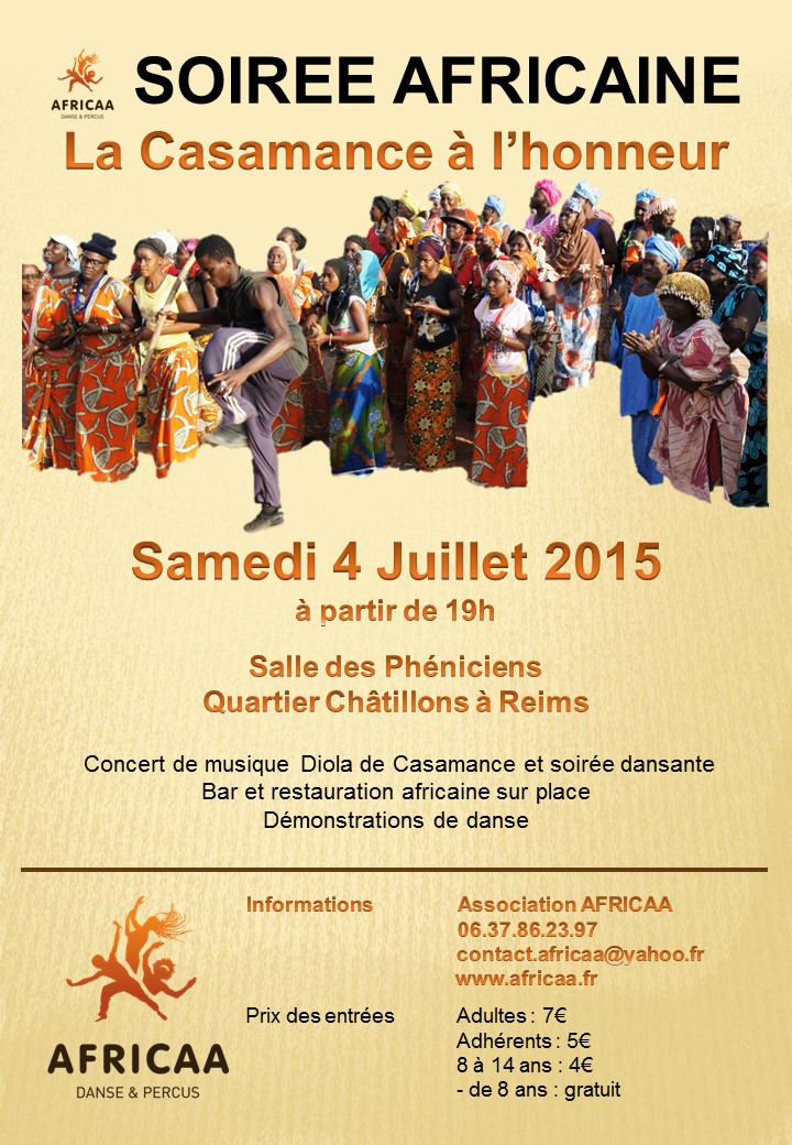 Fête AFRICAA 4 juillet 2015