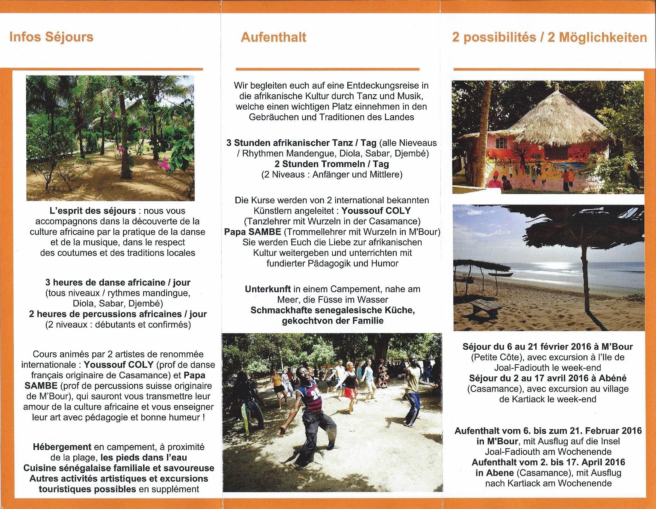 Plaquette Stages Sénégal 2016 Part 2