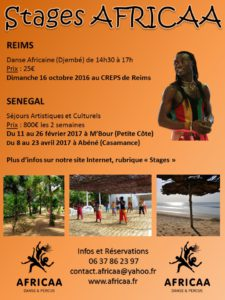 STAGES AFRICAA 2016 17