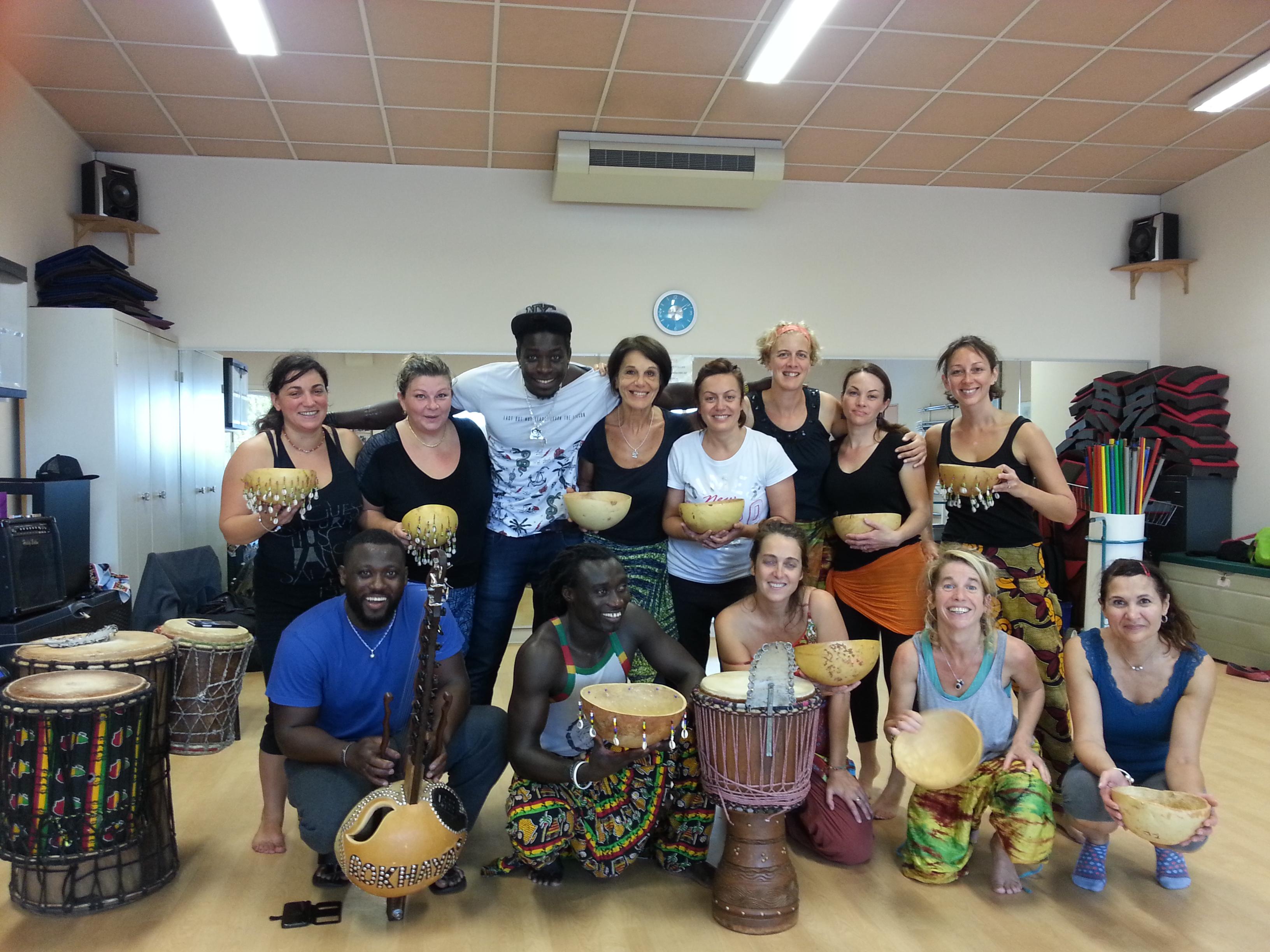 Atelier de Danse de Casamance à Aimargues (30) le samedi 14 octobre 2017