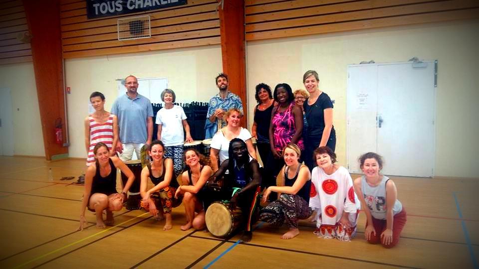 Découverte de la danse africaine à Vailhauquès (34) le 17 juin 2018 !