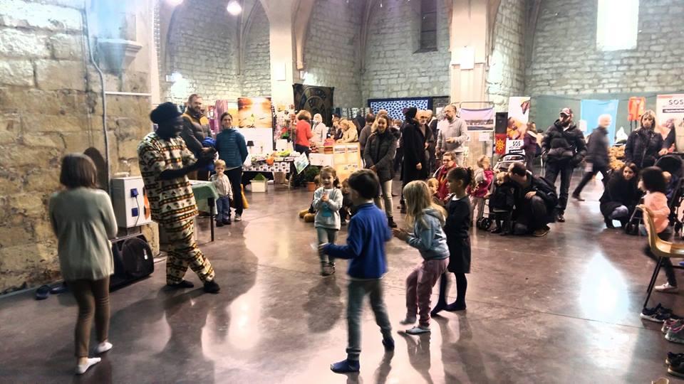 AFRICAA participe au 9ème Marché de Noël Equitable et Solidaire de Clermont l'Hérault les 17 et 18 Nov 2018