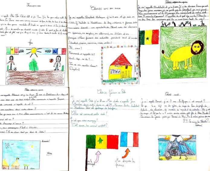 Dessins de élèves de Castelnau-le-Lez